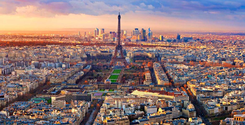 Andate alla scoperta della romantica capitale francese