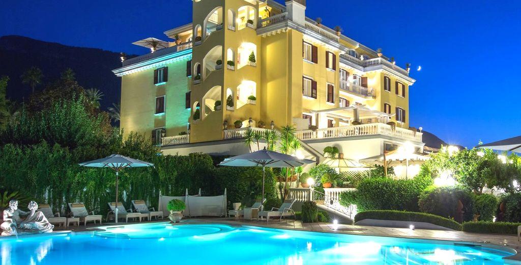 In un moderno ed elegante hotel a 4 stelle