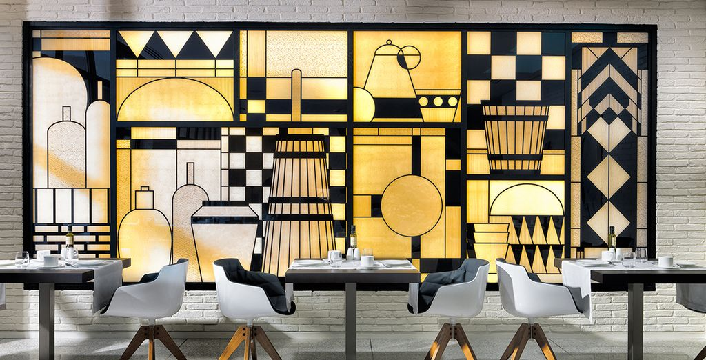hotel di recente costruzione ispirato al mondo dell'arte contemporanea