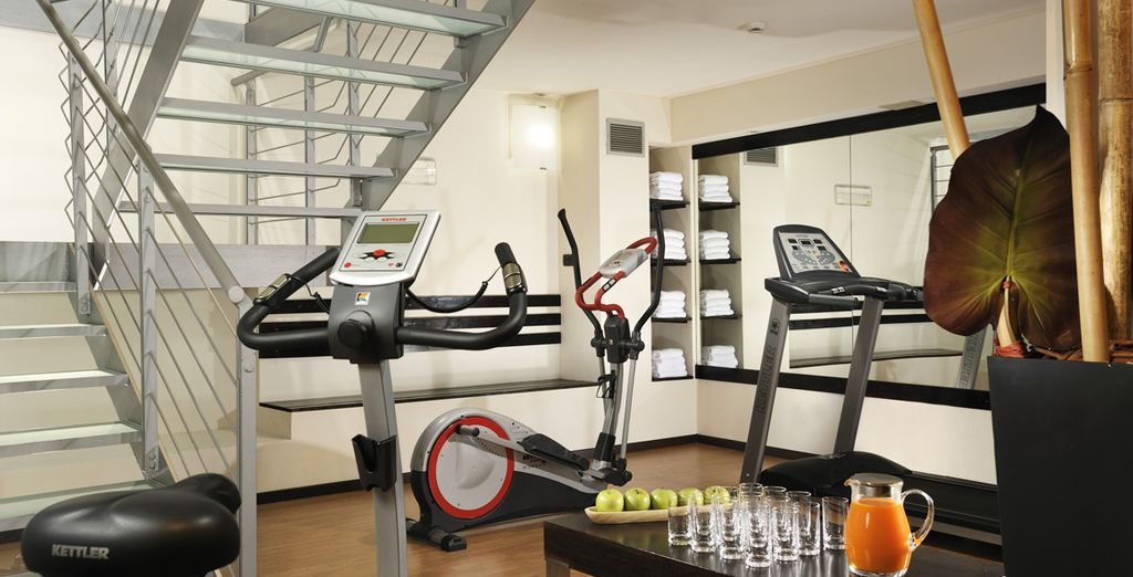 Approfittate dell'area fitness