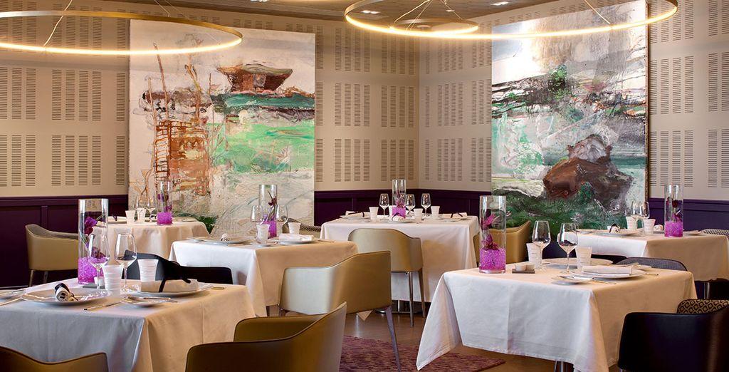 Gustate i piatti del ristorante Le Comptoir du Clos