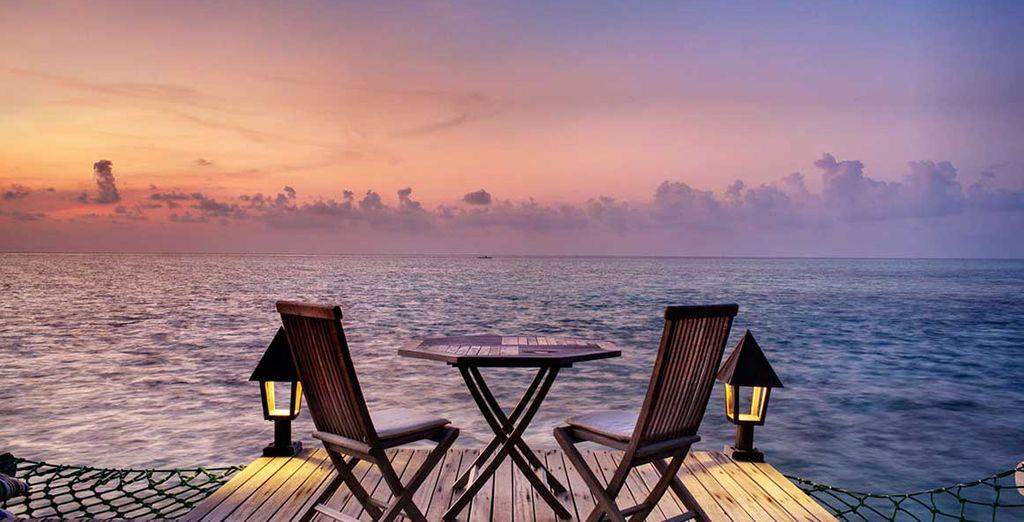 Non perdetevi l'occasione di trascorrere una cena romantica al tramonto