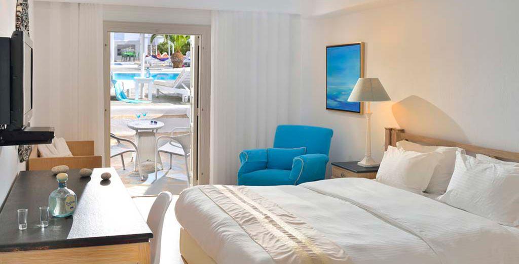 Rilassatevi nella vostra Camera con balcone