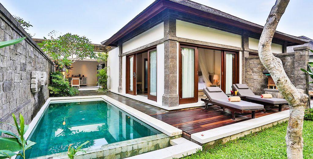 qui soggiornerete in splendide Pool Villa