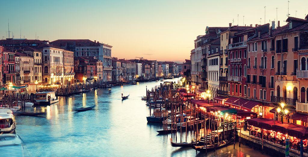 Partite per Venezia