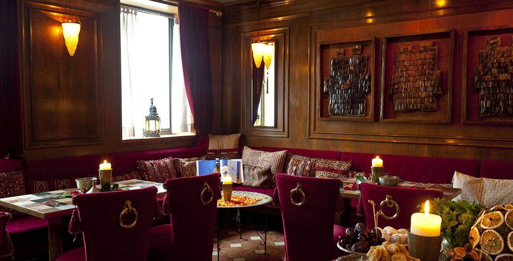 Oriental bar vi avvolgerà nella sua elegante atmosfera