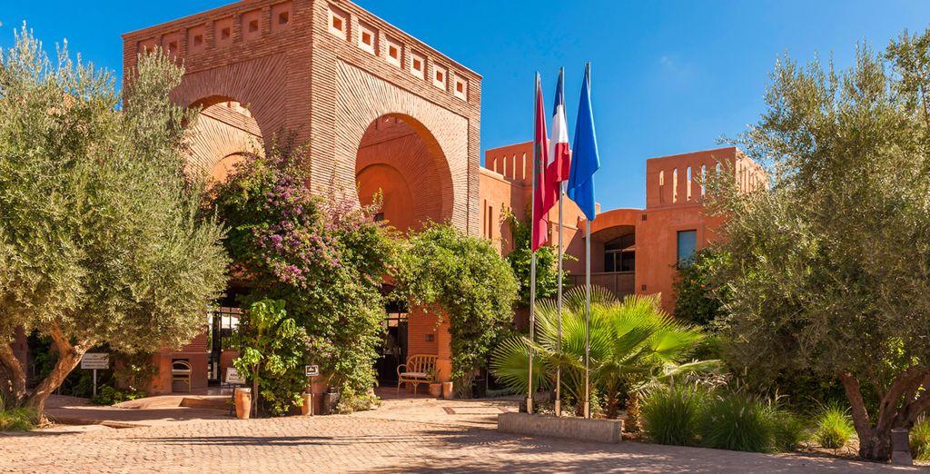 L'Adama Resort Marrakech 4* vi attende tra rigogliosi giardini