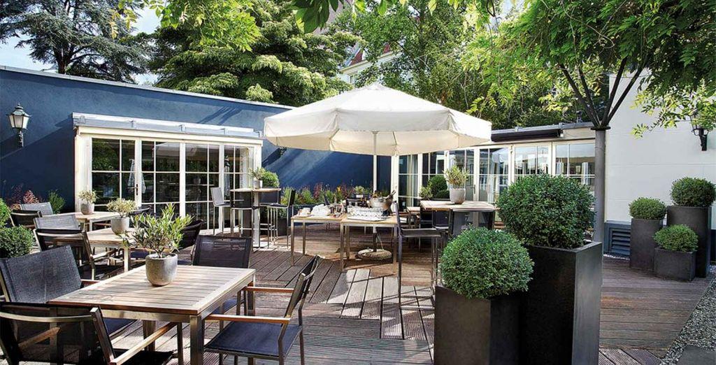 o al Pause, una magnifica terrazza dove trascorrere veri e propri momenti di relax