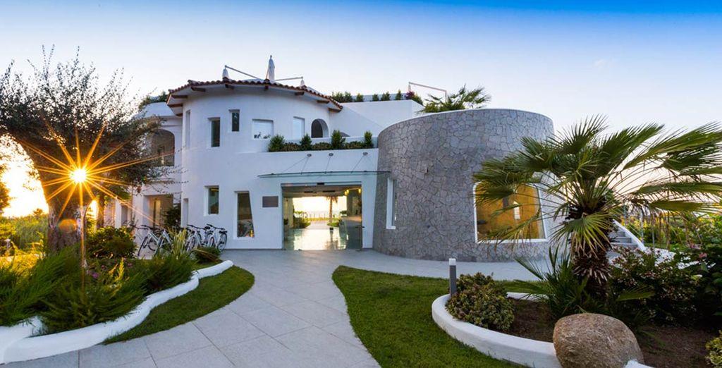 Una struttura moderna e accattivante