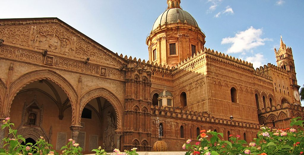 La posizione è perfetta per scoprire le bellezze di Palermo