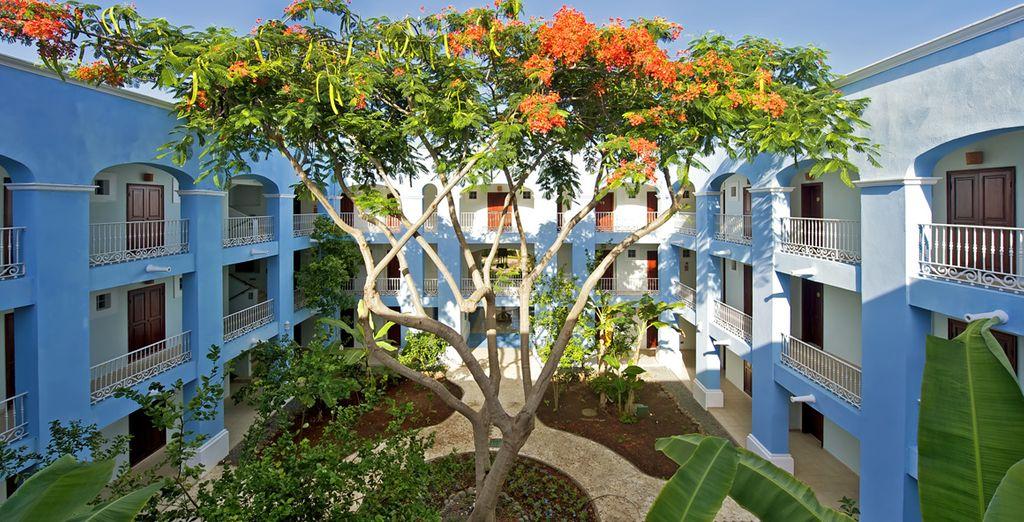L'Iberostar Hacienda Dominicus 5* è un resort moderno