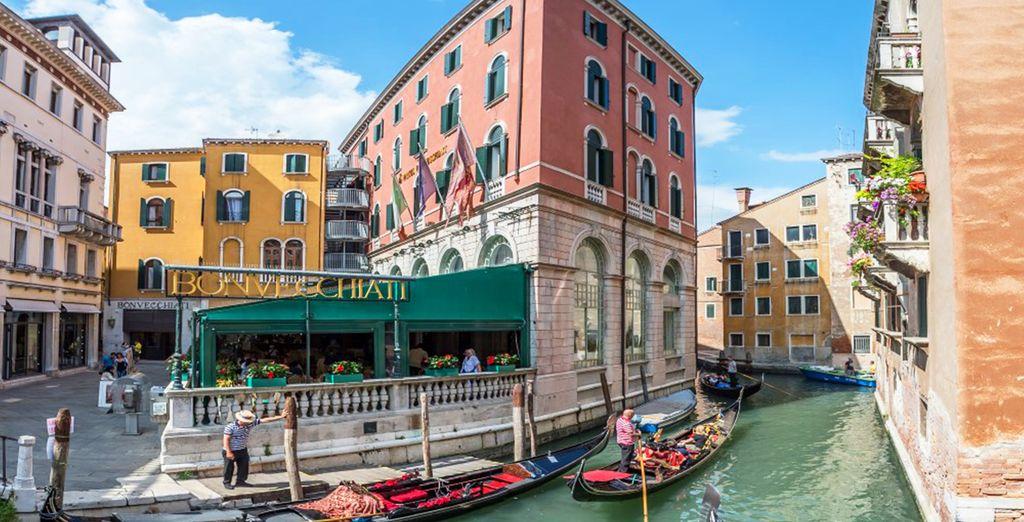 Benvenuti all'hotel Bonvecchiati 4*