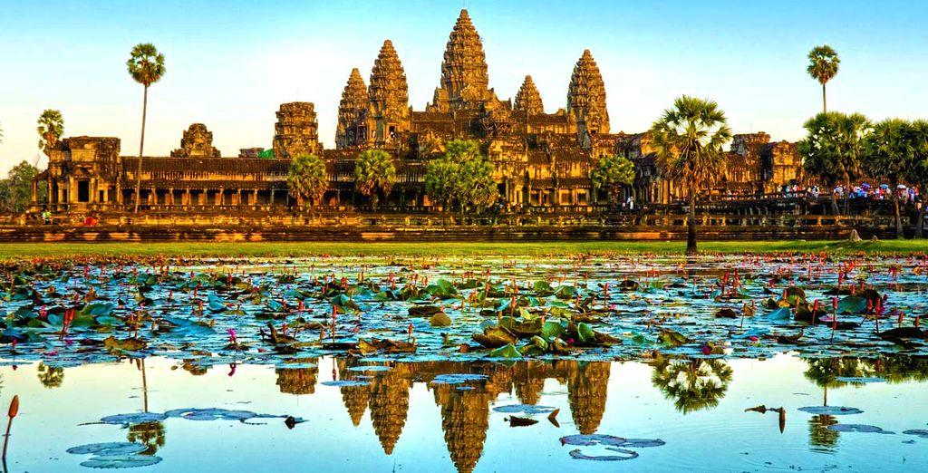 Partite alla volta della Cambogia