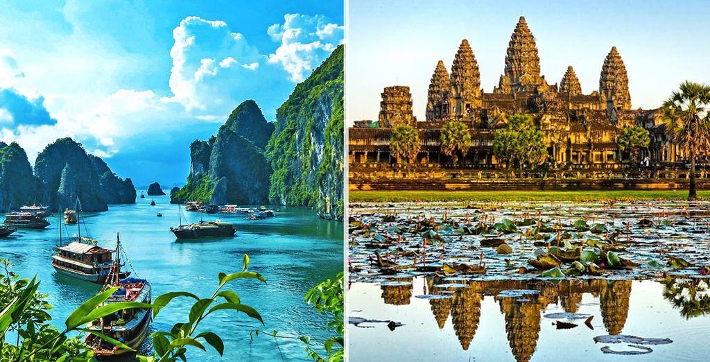 Scoprite Vietnam e Cambogia, due paesi affascinanti
