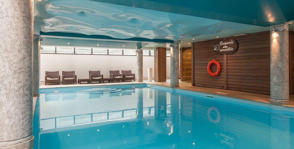 Godetevi la zona relax con piscina riscaldata
