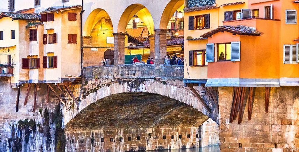 Non perdetevi le meraviglie di questa città, come Ponte Vecchio