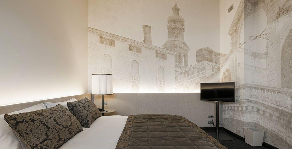 Soggiornate in eleganti camere Excecutive