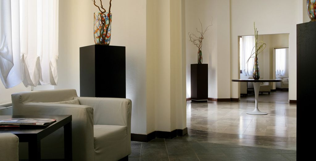 Una struttura dagli interni eleganti e raffinati