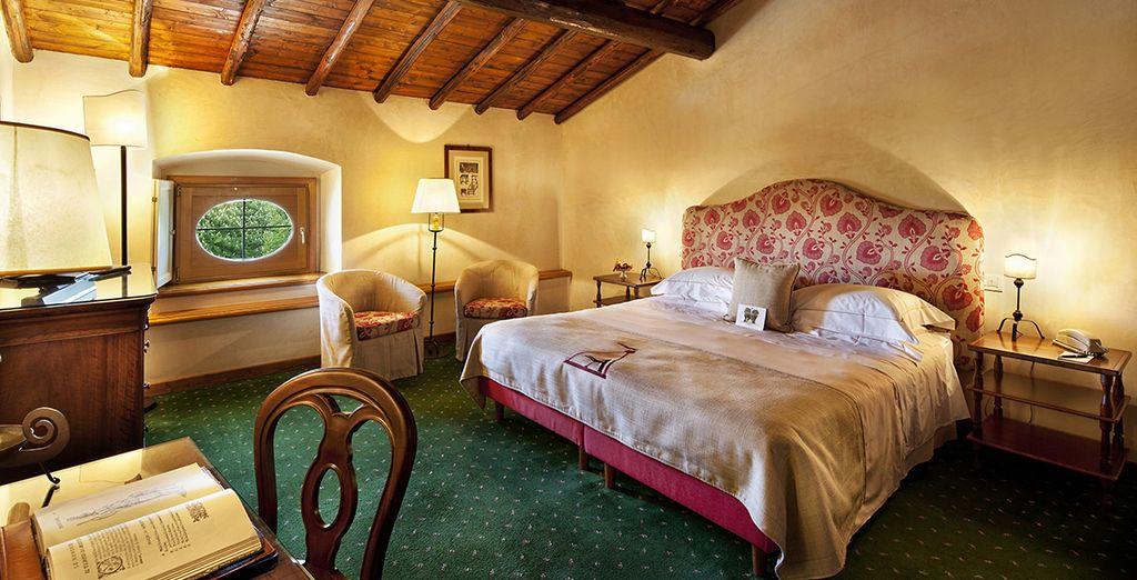 Riposatevi nella vostra confortevole camera Classic Palazzo