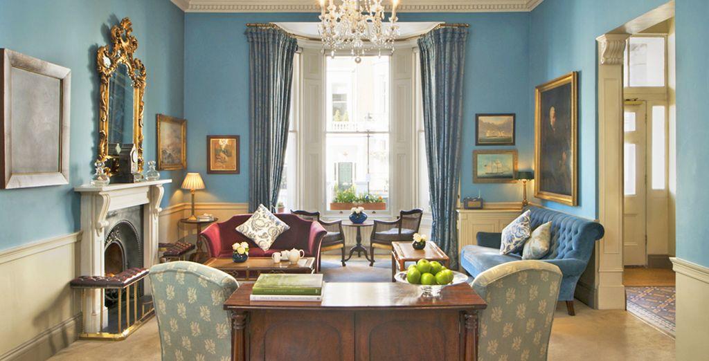 Benvenuti a Londra, il vostro hotel 4* in stile vittoriano vi attende