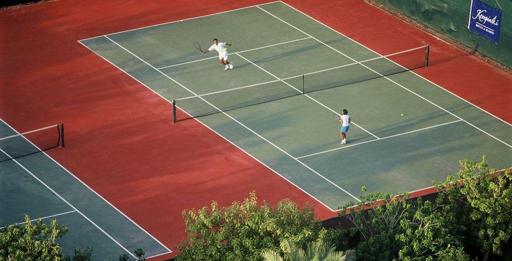 O i campi da tennis