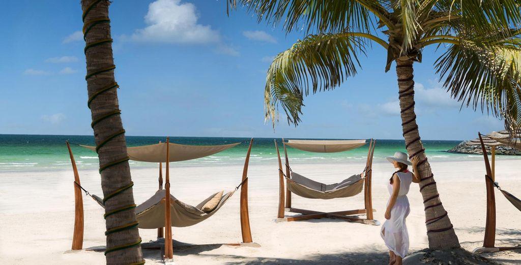 Visitate con noi una delle migliori spiagge degli Emirati Arabi Uniti