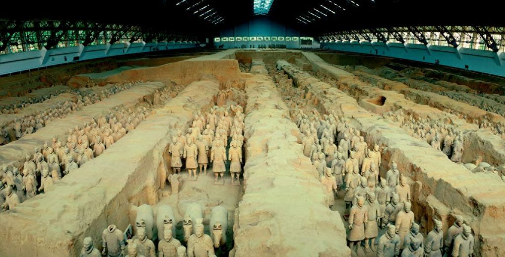 e scopire il famoso esercito di terracotta dal fascino millenario