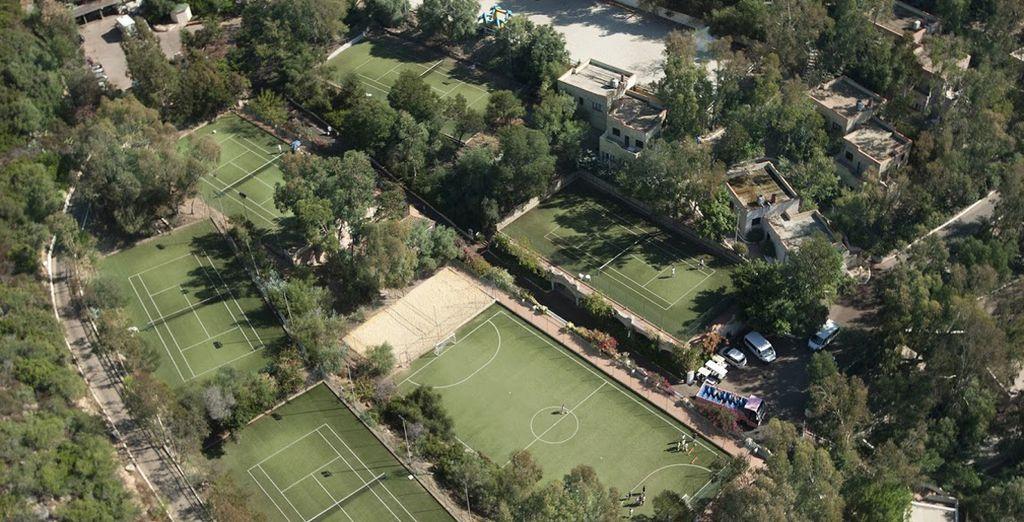L'Arbatax Park ospita innumerevoli strutture sportive