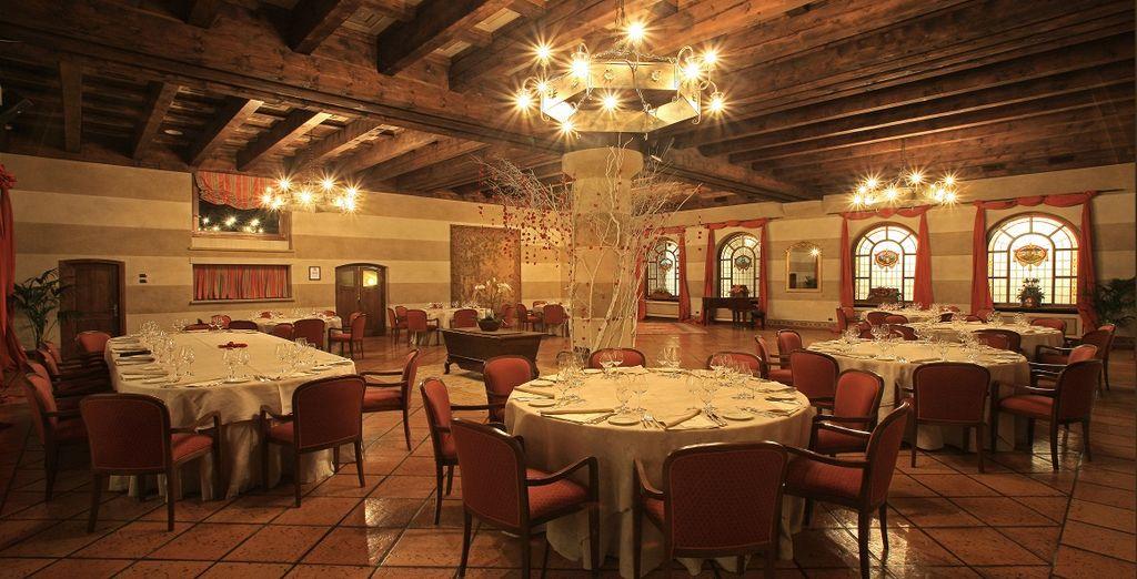 oppure La Cassolette, elegante e raccolto