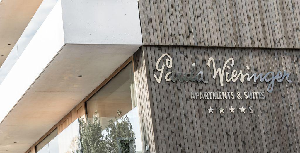 Paula Wiesinger Apartments & Suites 4*S vi dà il benvenuto