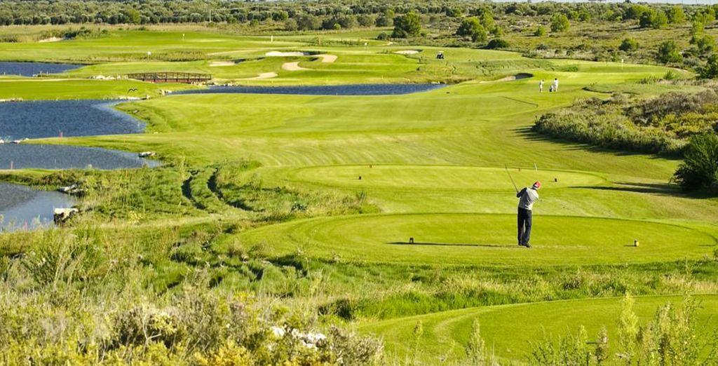 Il Golf Club vi propone un percorso variegato
