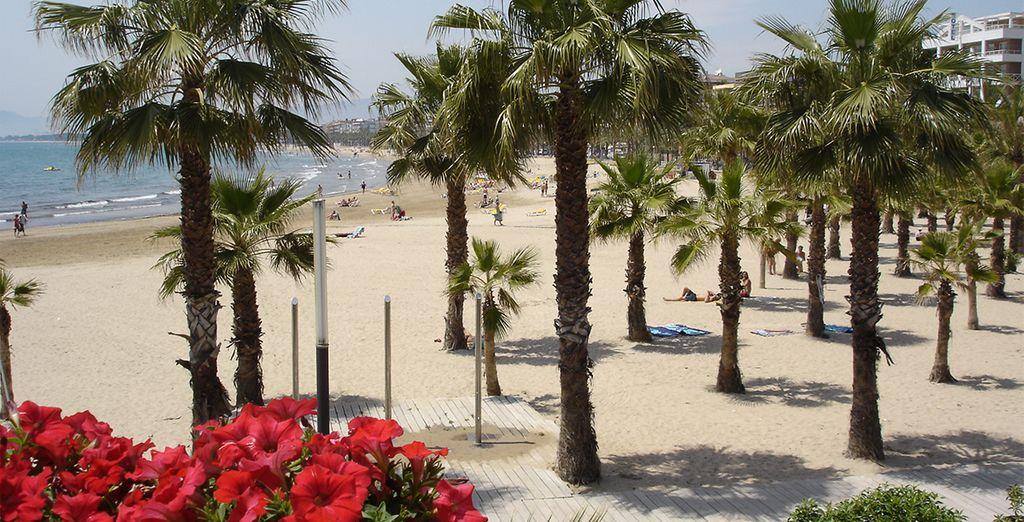 E trascorrete le vostre giornate sullle belle spiagge della Costa Dorada.