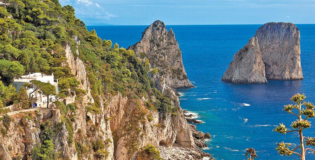 Fotografia dell'isola di Capri