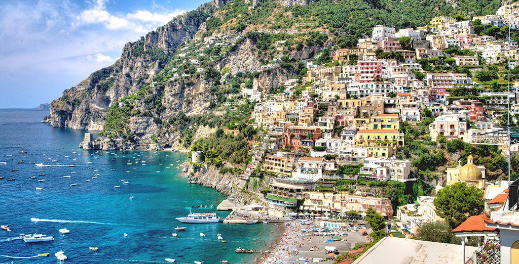 Visita delle cinque terre d'Italia