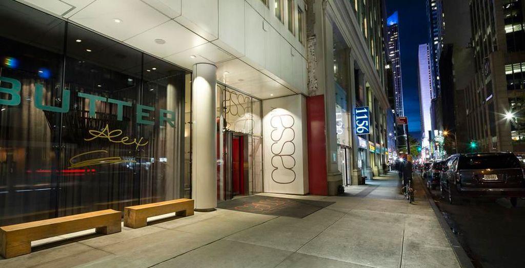 Soggiornando al meraviglioso Cassa Hotel di NY City