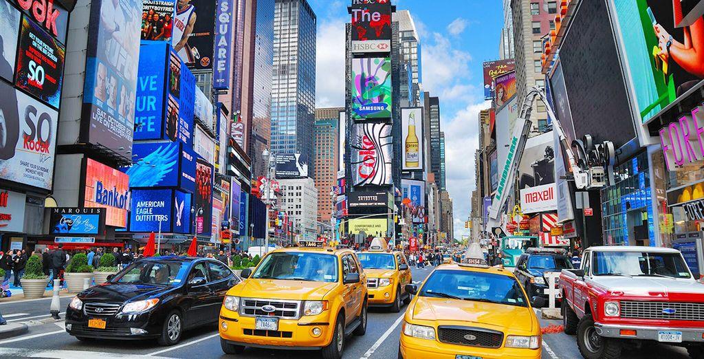 L'hotel è situato a pochi passi da Times Square