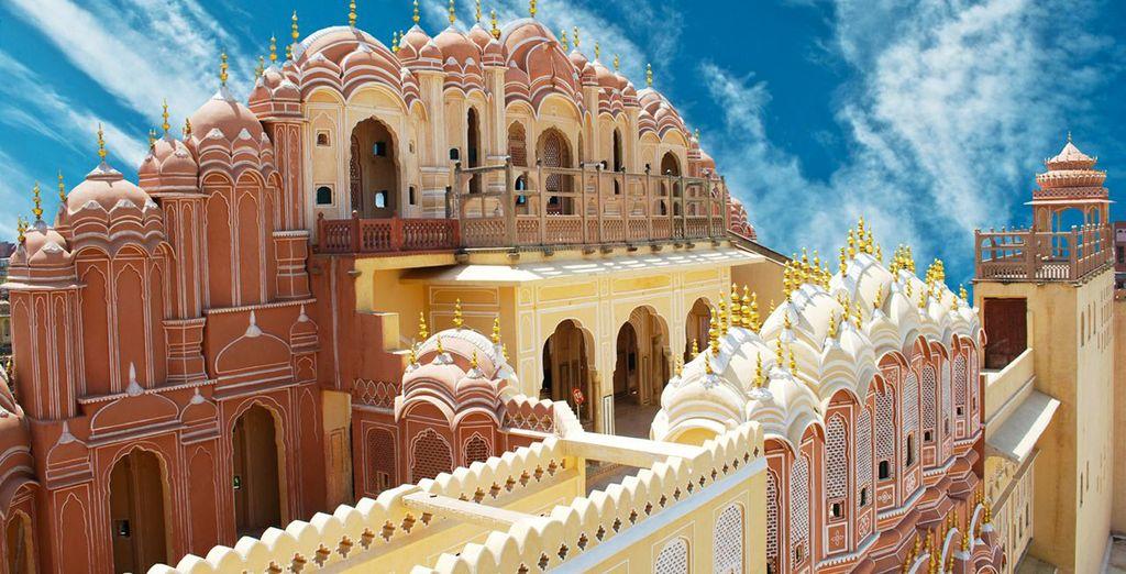 Fotografia dell'India e della sua architettura tipica