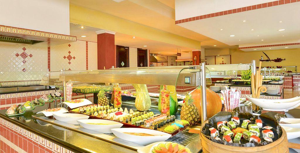 Ogni esigenza sarà soddisfatta grazie all'ampia scelta di ristoranti