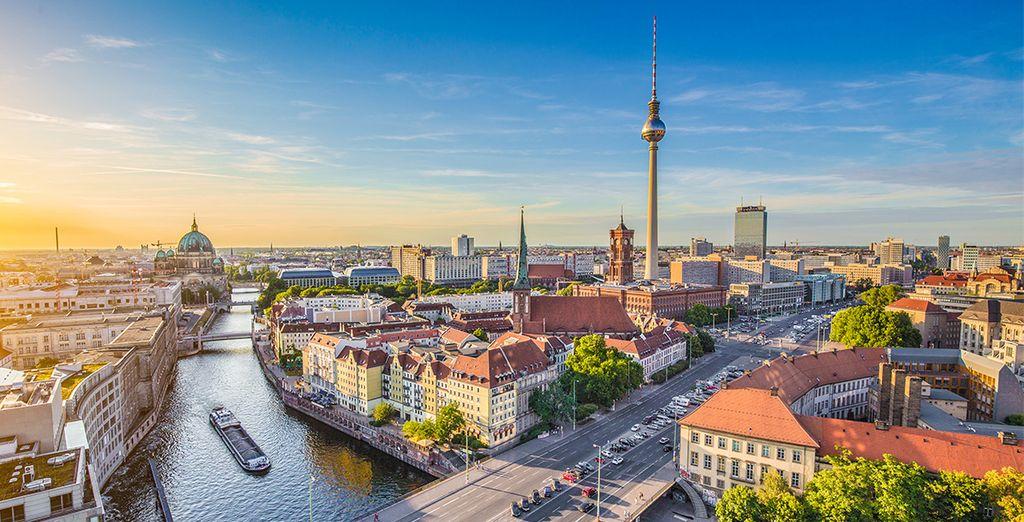 Fotografia della città di Berlino in Germania