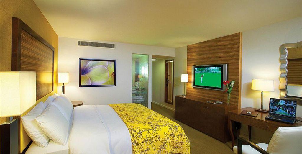 Hotel al top di gamma negli Stati Uniti e una camera confortevole