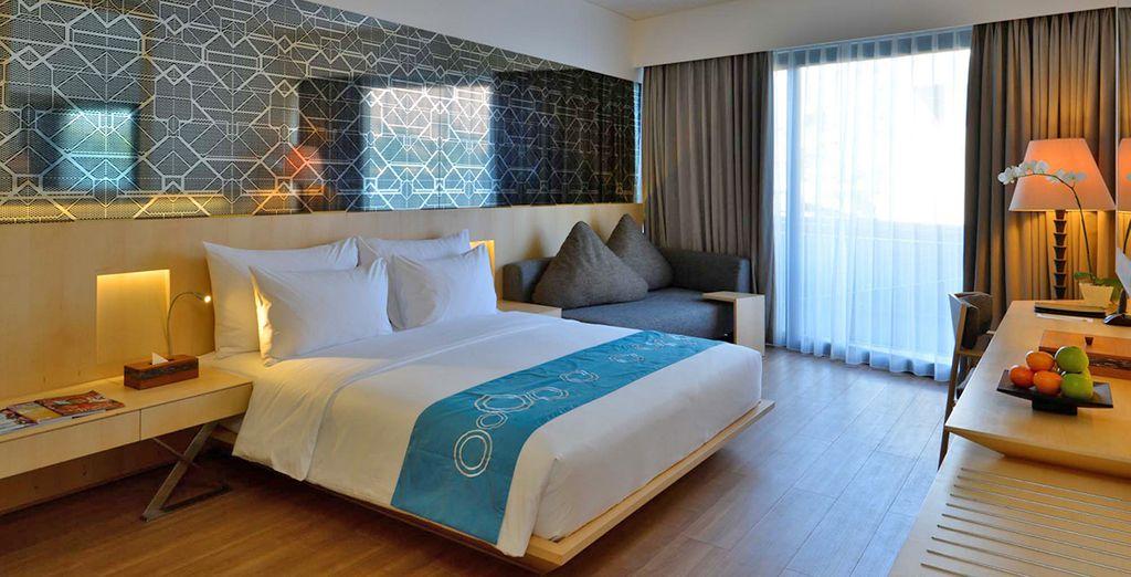 Deluxe hotel e camera nel centro di Singapore e vicino a tutte le attività