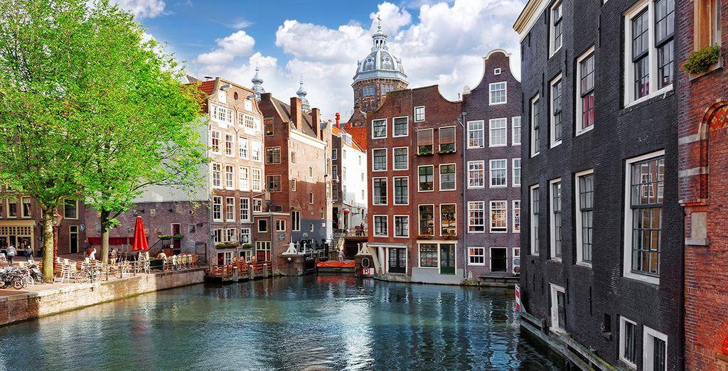 Fotografia di Amsterdam, soprannominata