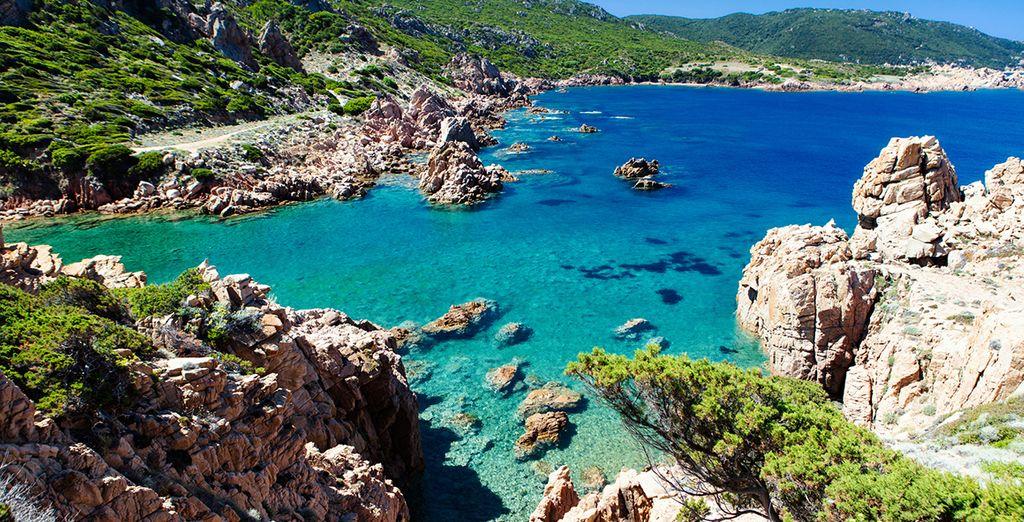 Paesaggio della Sardegna