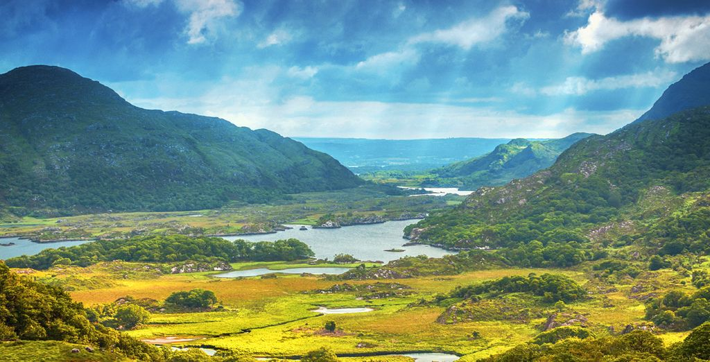 Fly & Drive ammirando i panorami dell'Irlanda in libertà