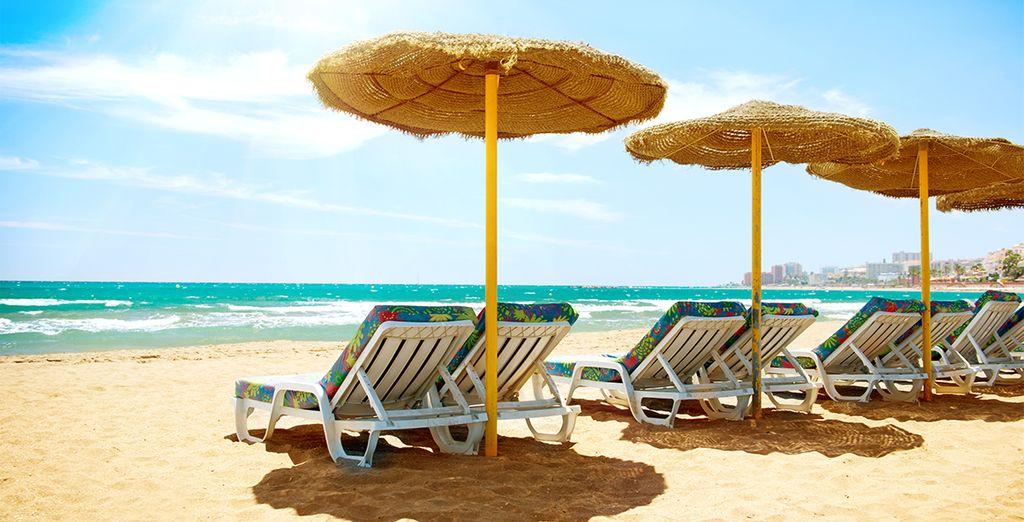 Hotel MS Aguamarina Suites, spa, sauna e area relax e relax sulla spiaggia
