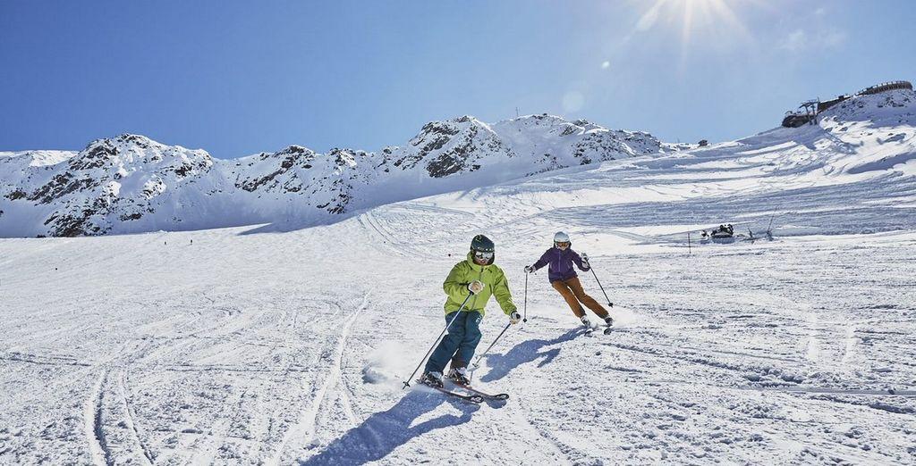 offerte di sci a Val Senales