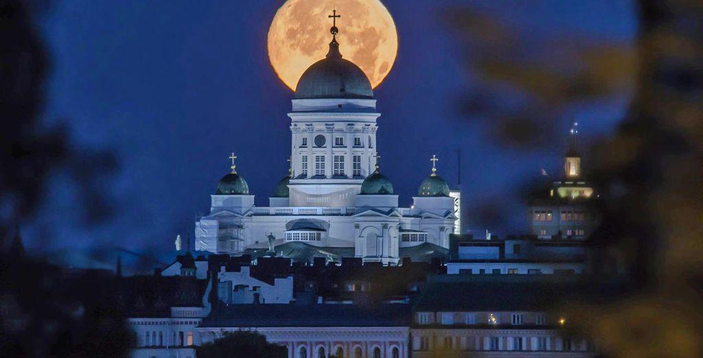 Partirete poi alla scoperta di Helsinki
