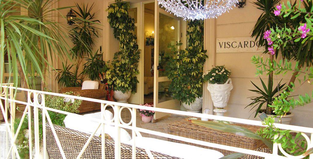 Hotel Viscardo 4* a Viarregio