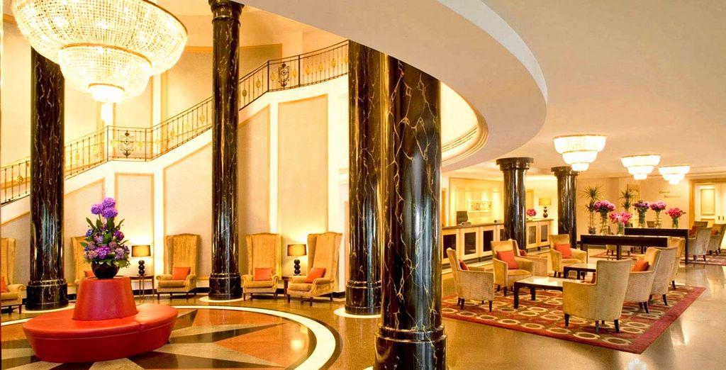 Soggiornate in un elegante hotel 5*