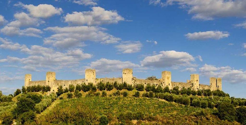 Lasciatevi affascinare dalla storica Monteriggioni